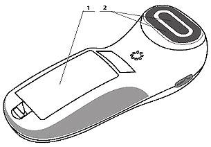 Аппарат ДиаДЭНС-ПКМ III поколения (вид снизу)